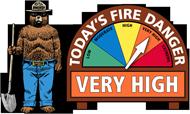 Fire-sign-very-high